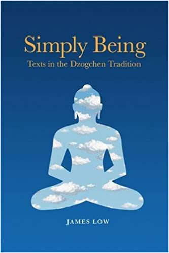 Simply Being book cover, book by James Low
