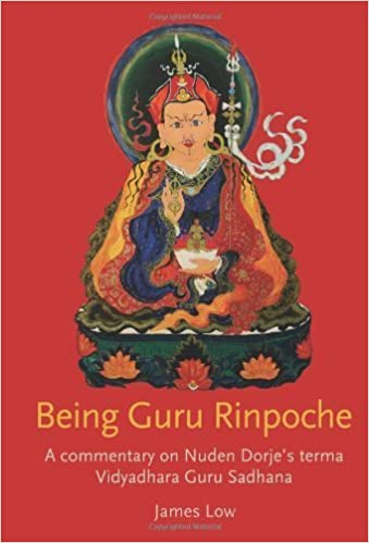 Being Guru Rinpoche Book Cover - James Low
